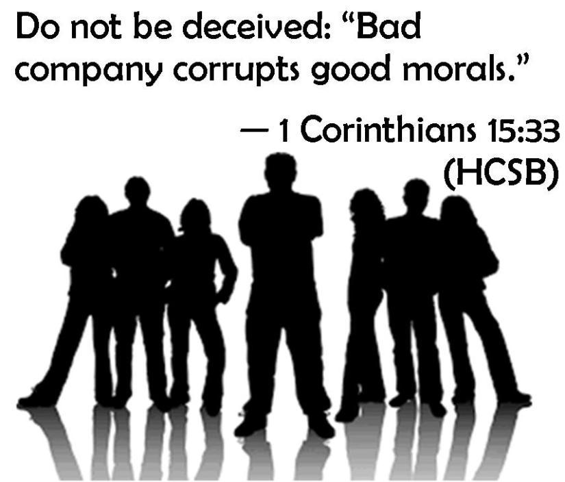 1 Corinthians 15 33