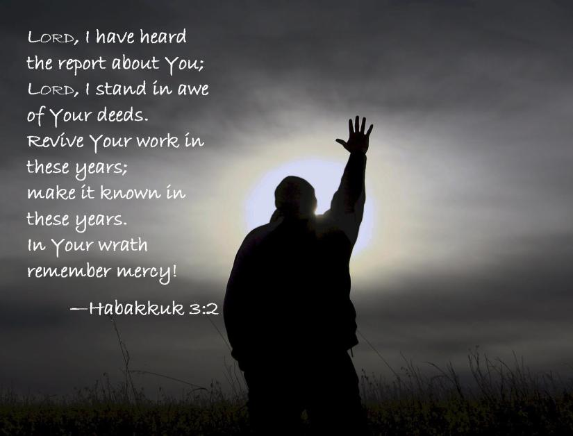 Habakkuk 3 2