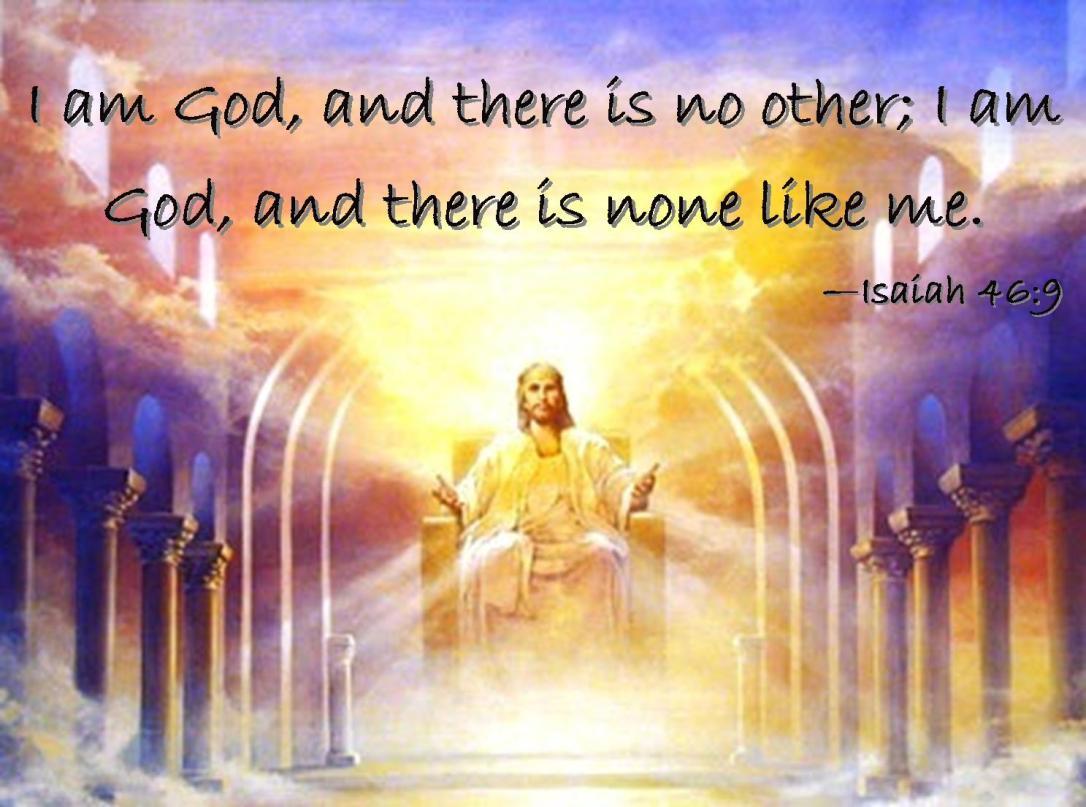 Isaiah 46 9