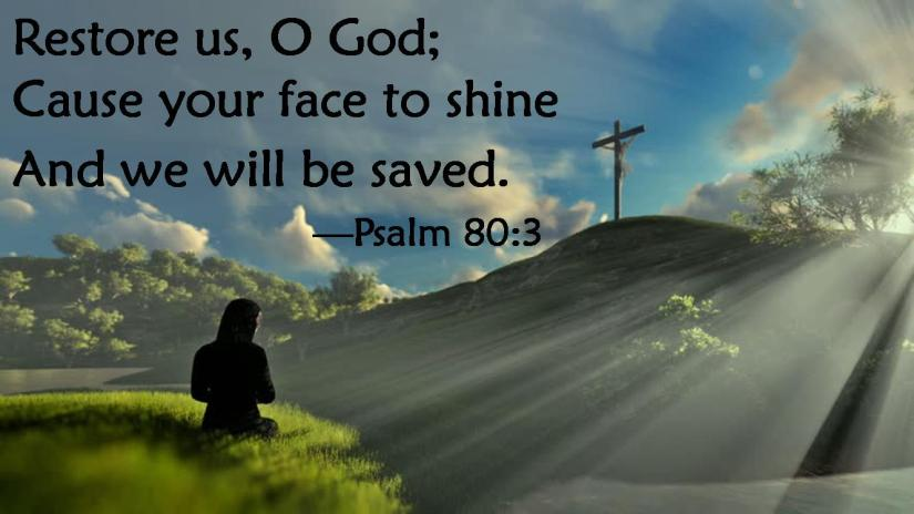 Psalm 80 3