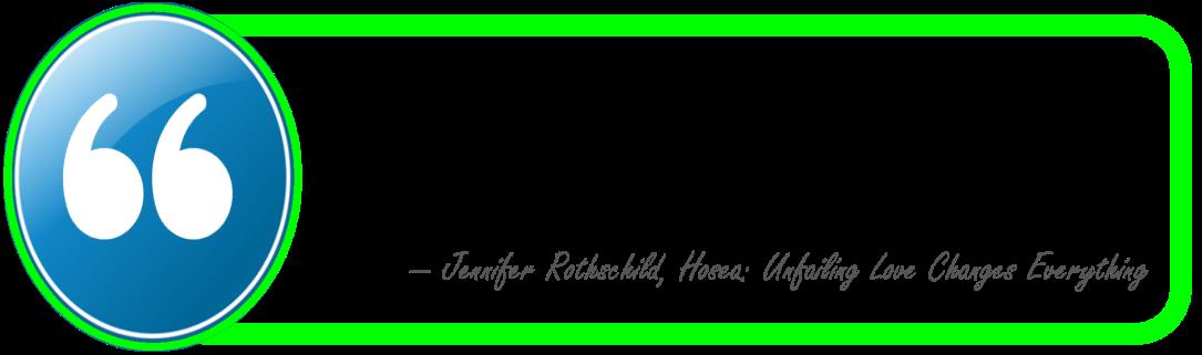 Rothschild-Hosea-Unfailing Love