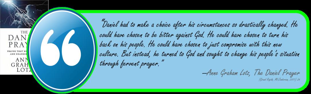 Lotz -Daniel Prayer- fervent prayer