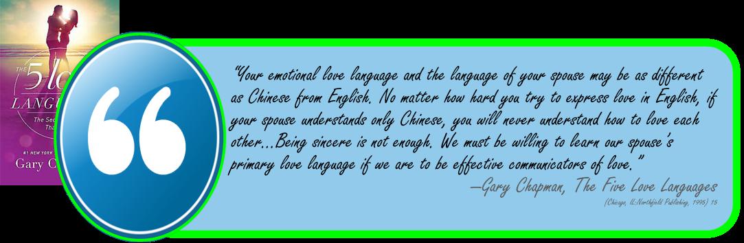 GChapman-Love Languages-Sincere is not enough